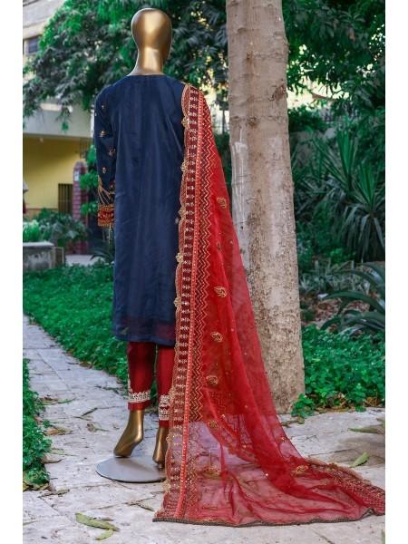 Sadabahar Eid Festive Collection Vol 1 D-MA 47 Blue