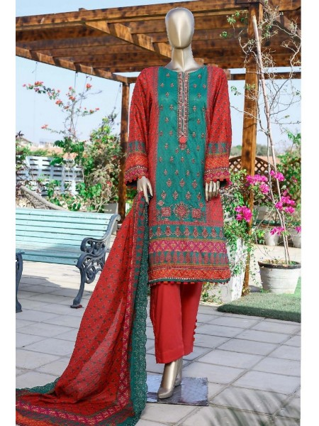 Sadabahar Printed and Embroidered Collection D-1919
