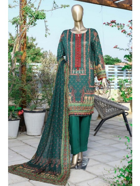 Sadabahar Printed and Embroidered Collection D-1925
