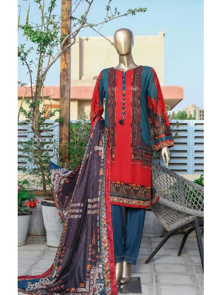 Sadabahar Printed and Embroidered Collection D-ST 11817