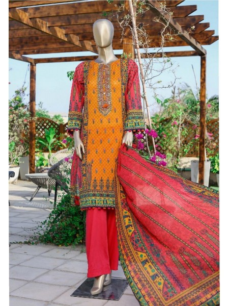 Sadabahar Printed and Embroidered Collection D-ST 1891