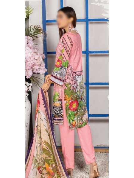 Schiffli Embroidered and Digital Print Lawn Collection Vol 10 D-D 03