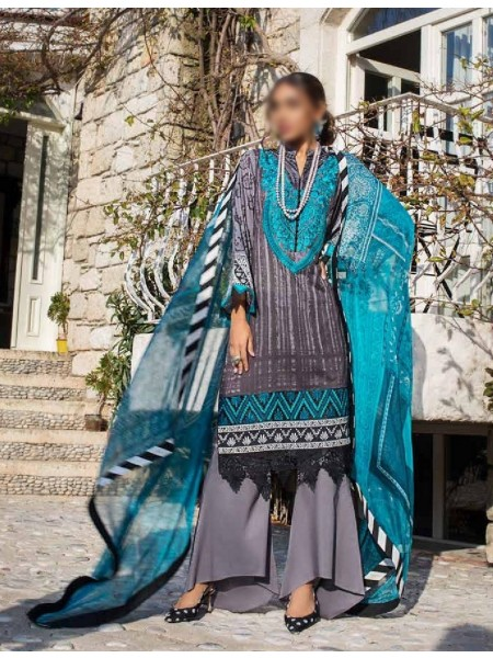 TAHRA By ZAINAB CHOTTANI - Summer Lawn Collection21 D-D 07 A
