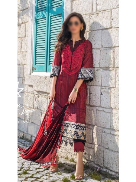 TAHRA By ZAINAB CHOTTANI - Summer Lawn Collection21 D-D 07 B