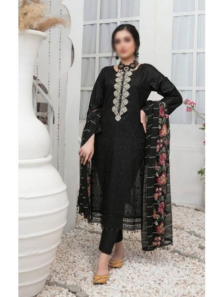 Tawakkal Aslihan Embroidered Jacquard Lawn Collection D-Design 07