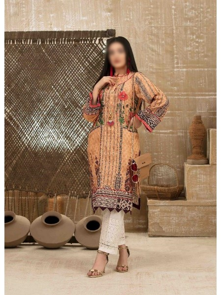 Tawakkal Casual Summer Lawn Broshia Digital Print Kurti Collection D-D 9176