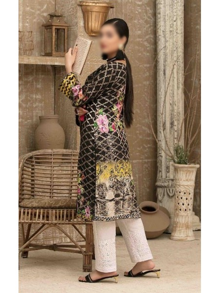 Tawakkal Casual Summer Lawn Broshia Digital Print Kurti Collection D-D 9177