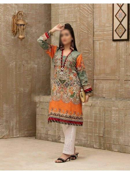 Tawakkal Casual Summer Lawn Broshia Digital Print Kurti Collection D-D 9178