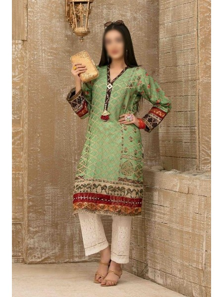 Tawakkal Casual Summer Lawn Broshia Digital Print Kurti Collection D-D 9182
