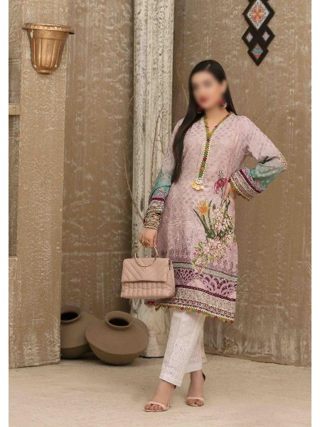 Tawakkal Casual Summer Lawn Broshia Digital Print Kurti Collection D-D 9184