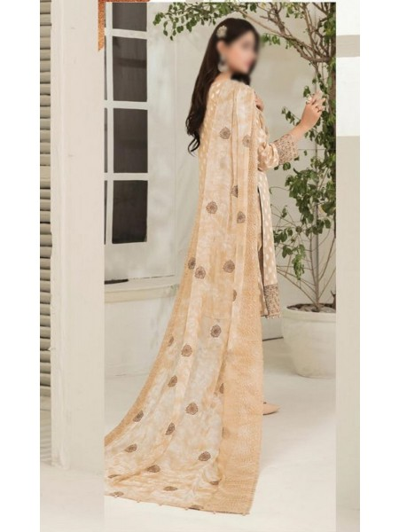 Tawakkal Ritzier Jacquard Embroidered Unstitched Collection D-1371