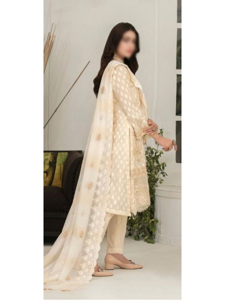 Tawakkal Ritzier Jacquard Embroidered Unstitched Collection D-1379