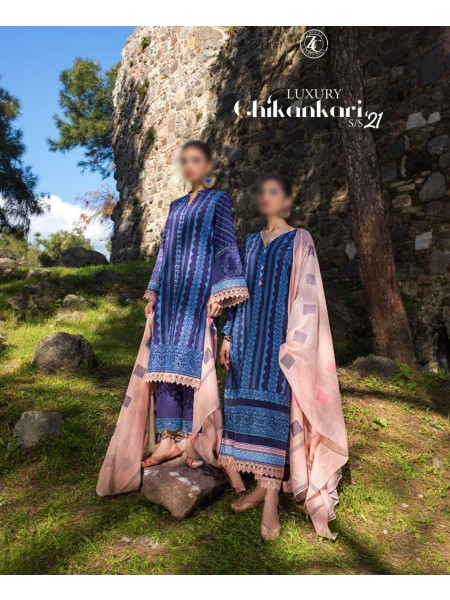 Zainab Chottani Luxury ChikanKari SS21 D-05 B