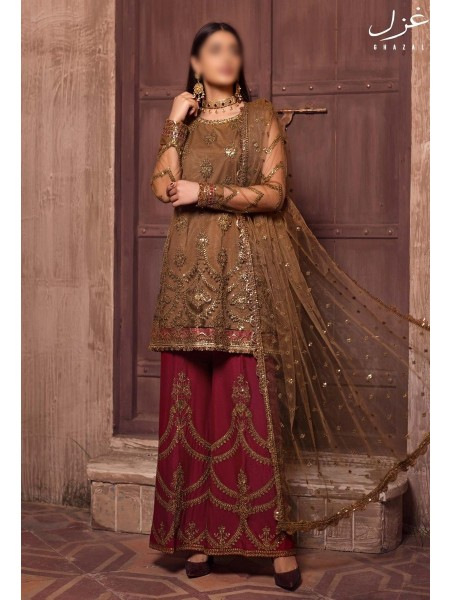 Zarifs Festive Collection GHAZAL21 D-ZG 03