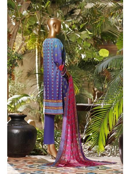 Amna Khadija Diva Embroidered Lawn Vol-03 D-02