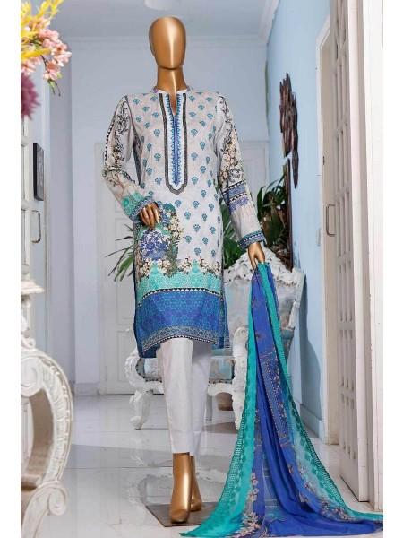 HZ Textile Diamond Supreme Legacy Embroidered Chiffon Dupatta Collection D-DSE-1012- A