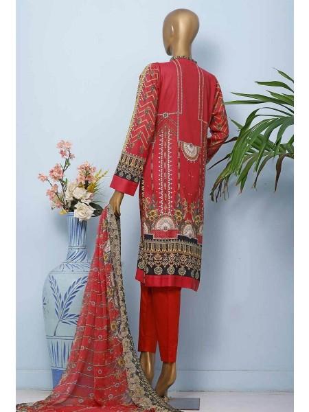 HZ Textile Diamond Supreme Legacy Embroidered Chiffon Dupatta Collection D-DSE-1014-B
