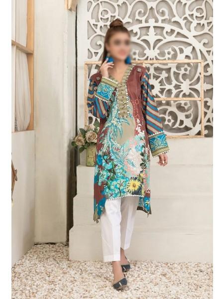 Tawakkal Color Of Eid Kurti Collection D-1462