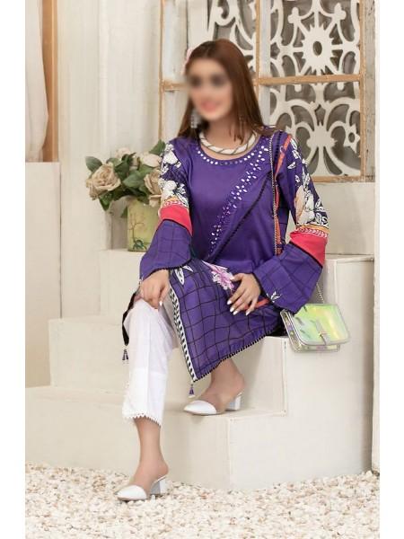 Tawakkal Color Of Eid Kurti Collection D-1468