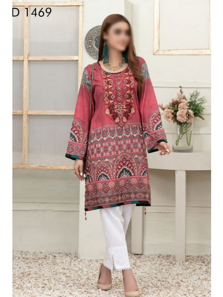 Tawakkal Color Of Eid Kurti Collection D-1469