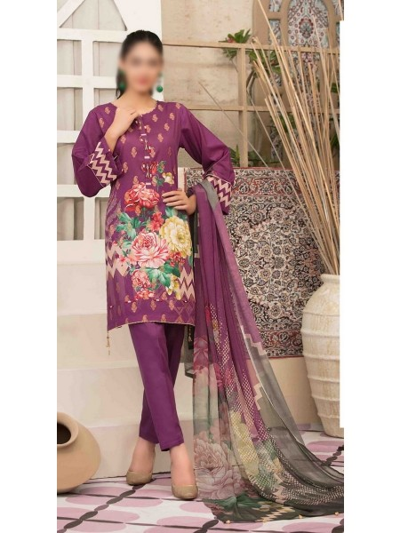 Tawakkal Spirit of Exuberance Lawn Banarsi Collection D-1590