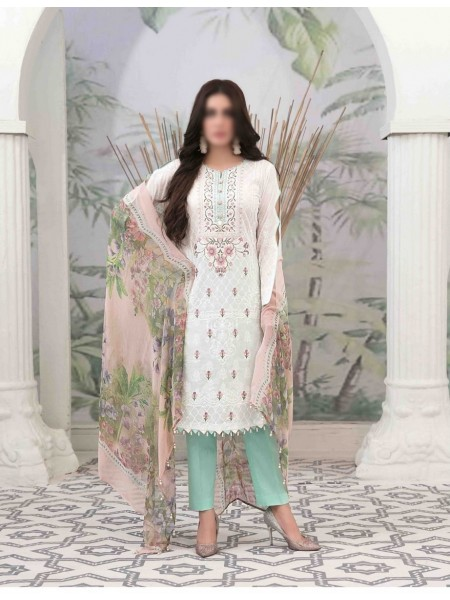 Tawakkal Summer Medley Lawn Printed And Embroidered Collection D-1472 A