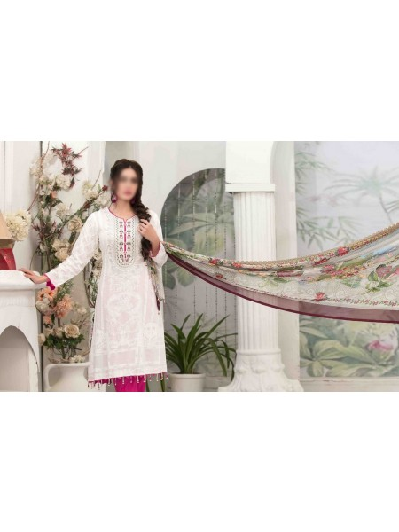 Tawakkal Summer Medley Lawn Printed And Embroidered Collection D-1474 A