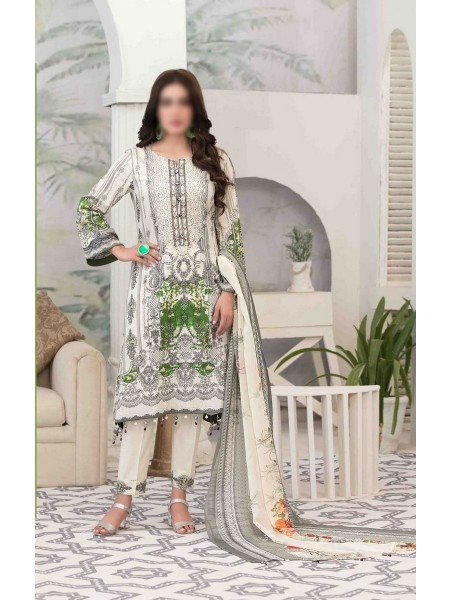 Tawakkal Summer Medley Lawn Printed And Embroidered Collection D-1476 A