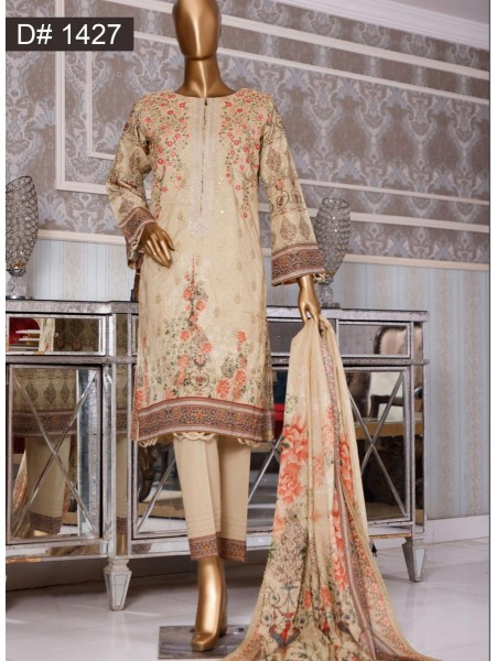 Bin Saeed Embroidered Collection 2021 Vol 12 D 1427