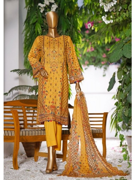 Bin Saeed Embroidered Collection Vol11 D1417