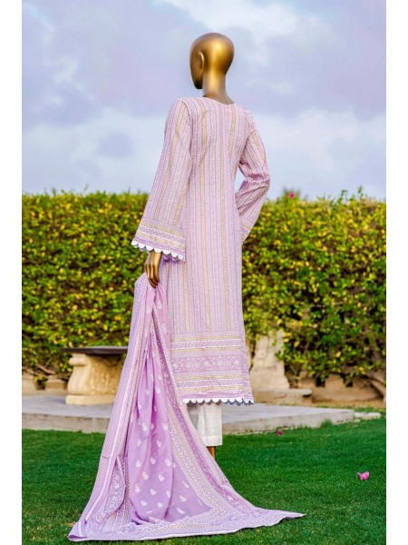 Bin Saeed Fariha And Farah Naz Printed Lawn'21 Vol-03 D-02