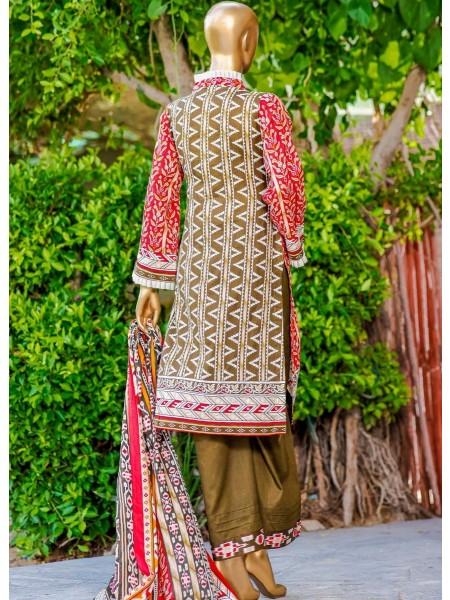 Bin Saeed Fariha And Farah Naz Printed Lawn'21 Vol-03 D-07