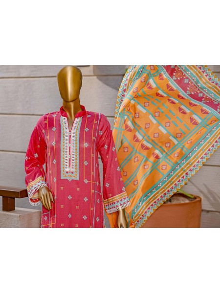 Bin Saeed Unstitched Digital Prints Collection21 D-08