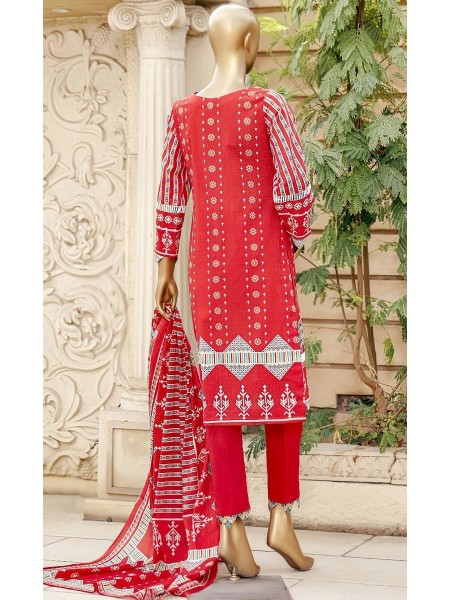 Bin Saeed Unstitched Digital Prints Collection21 D-13