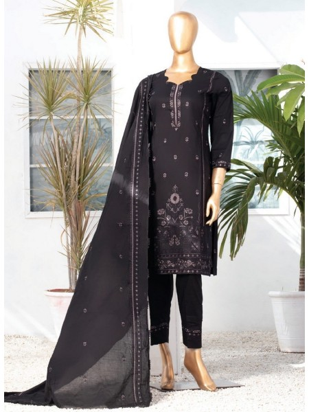 MTF DASTAAN BLACK & WHITE EMBROIDERED LAWN COLLECTION21 D02