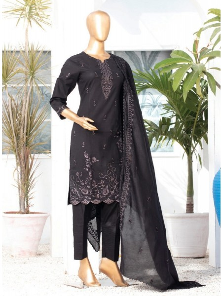 MTF DASTAAN BLACK & WHITE EMBROIDERED LAWN COLLECTION21 D04
