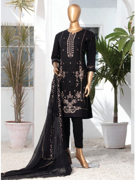 MTF DASTAAN BLACK & WHITE EMBROIDERED LAWN COLLECTION21 D06