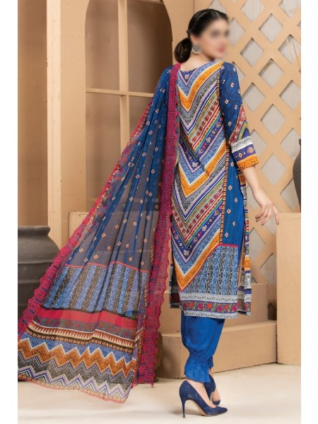 MTF ROSETTE DIGITAL PRINTED LAWN COLLECTION'21 D-03