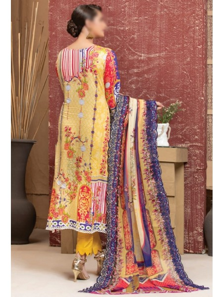 MTF ROSETTE DIGITAL PRINTED LAWN COLLECTION'21 D-09