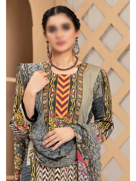 MTF ROSETTE DIGITAL PRINTED LAWN COLLECTION'21 D-10