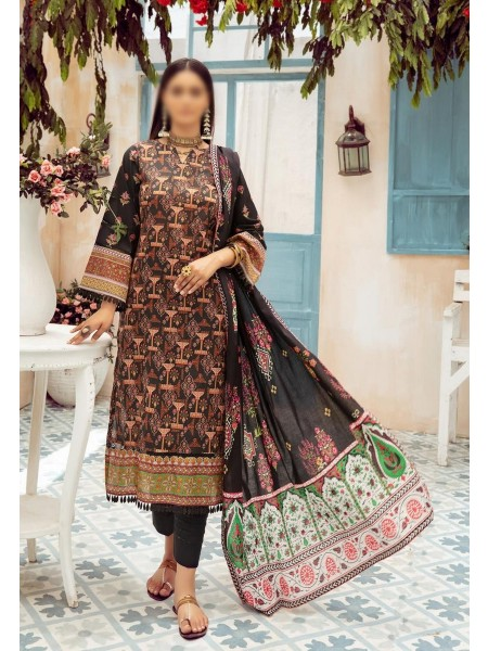 NUR Girls Printed Lawn Collection D-NG 324