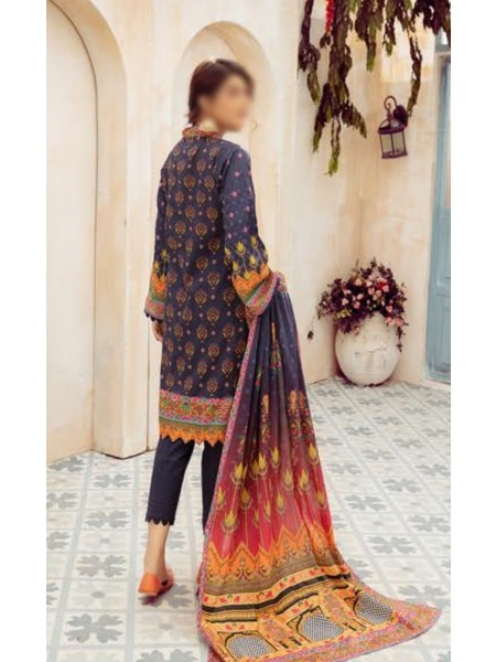 NUR Girls Printed Lawn Collection D-NG 329