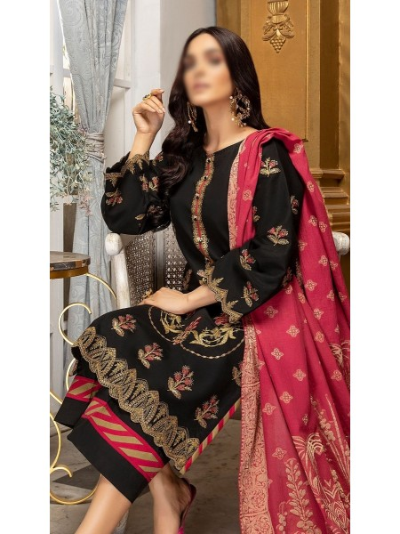 RaniSa By Panache Embroidered Slub Lawn Collection D-02