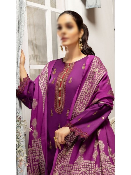 RaniSa By Panache Embroidered Slub Lawn Collection D-07