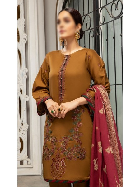 RaniSa By Panache Embroidered Slub Lawn Collection D-09