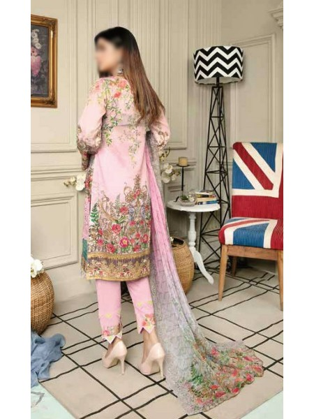 RIAZ ARTS Afreen Embroidered Lawn ChikanKari Collection D-AF 57