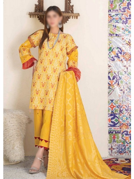Rohab Banaras Embroidered Collection D01