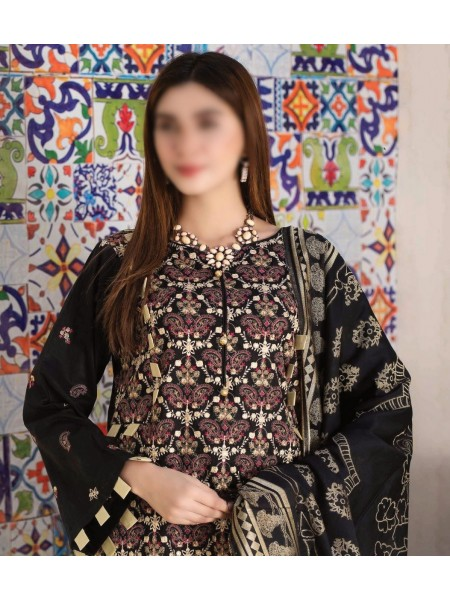 Rohab Banaras Embroidered Collection D03