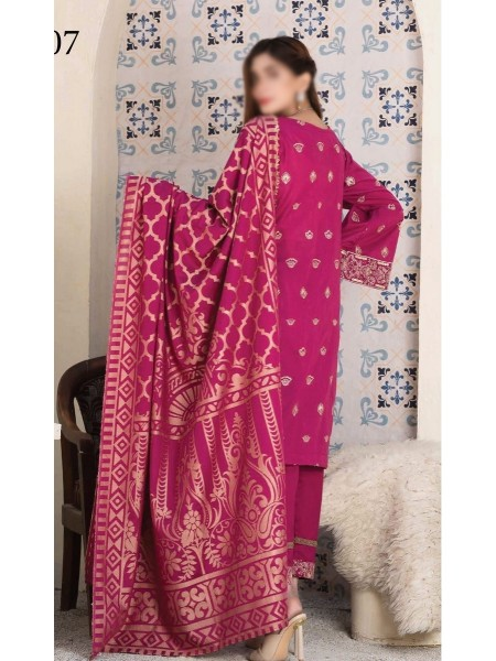 Rohab Banaras Embroidered Collection D07