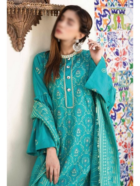 Rohab Banaras Embroidered Collection D08
